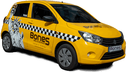 Bones-BBQ-Lieferdienst-Auto
